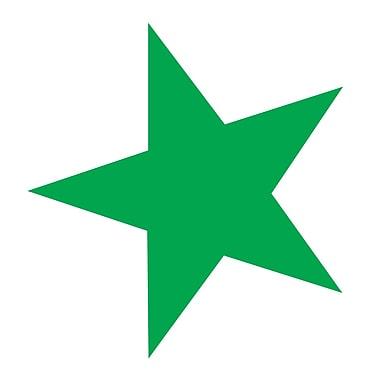 Westcott Green Stars, 3500/Pack