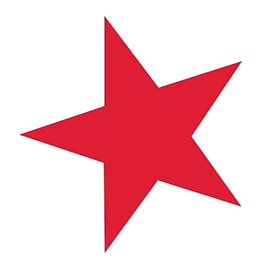 Westcott Red Stars, 3500/Pack