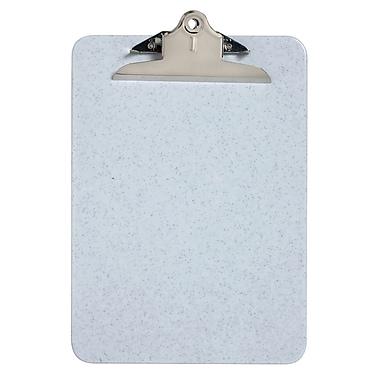 Westcott – Planchettes à pince à ressort de 6 po, en plastique, en plastique, format lettre, 9 x 12 po, granite