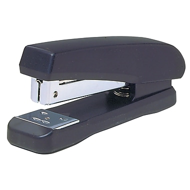 Westcott Half Strip Plastic Base Staplers, Black