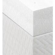Lucid 4'' Memory Foam Mattress Topper; Full