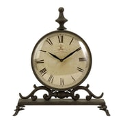 IMAX Eilard Table Clock with Roman Numerals