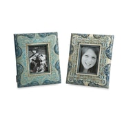 IMAX Haani Hand Painted Picture Frames (Set of 2)