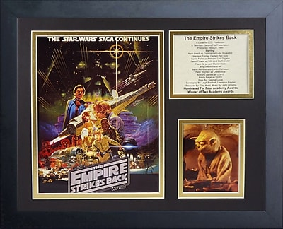 Legends Never Die Star Wars The Empire Strikes Back Framed Memorabilia WYF078277671863