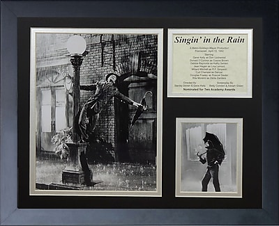 Legends Never Die Singin' in the Rain Framed Memorabilia WYF078277671870