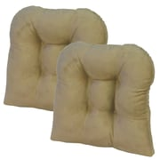 Klear Vu Dining Chair Cushion; Tan