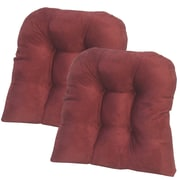 Klear Vu Dining Chair Cushion; Red