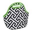Occasionally Made Greek Zipper Cosmetic Bag and Lunch Bag