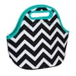 Occasionally Made Chevron Zipper Cosmetic Bag and Lunch Bag