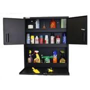 Geneva 36''H x 30''W x 6''D 3 Door Service Cabinet; Black/Mojave