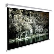 Homevision Technology TygerClaw White Manual Projection Screen; 108'' H x 108'' W