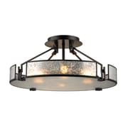 Elk Lighting Lindhurst 4 Light Semi-Flush Mount