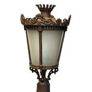 Melissa Tuscany 4-Light Lantern Head; Black