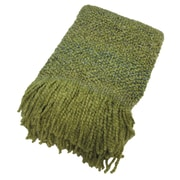 Bedford Cottage-Kennebunk Home Campbell Woven Throw Blanket; Citrine