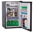Westinghouse 4.5 Cu. Ft. Cool Refrigerator with Freezer; Black