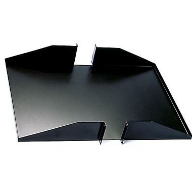 Quest Manufacturing 18''-25''D 1 Piece Double-Sided Non-Vented Shelf - 2 RU; 25''