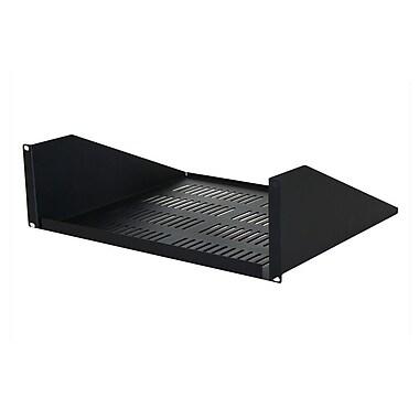 Quest Manufacturing 15''D Single-Sided Vented Shelf - 3 RU