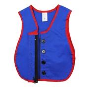 Childrens Factory Combo Zipper/Button Vest