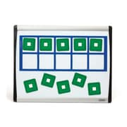 "Didax Unifix Magnetic Ten-Frame Card Set, 12 1/2"" x 5"""