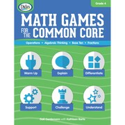 Didax Math Games for the Common Core, Grade 4