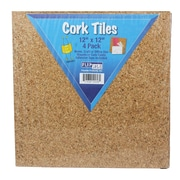 "Flipside Cork Tile Set, 12"" x 12"""