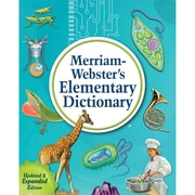 Merriam-Webster Elementary Dictionary, New Edition, Hardcover