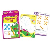 Trend Enterprises® Wipe-Off® Activity Card Set, Numbers 1-31