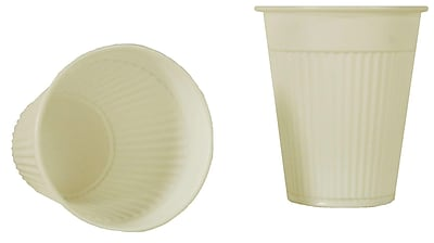 Tidi 5 oz. White Plastic Rinse/Drink Cup, 1000/Pack 1611398