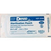 "Defend PLUS® Sanax Sterilization Pouch With Dual Indicator, 5 1/4"" x 10"""