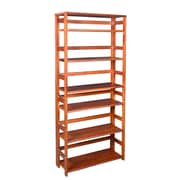 "Regency Flip Flop 67"" High Folding Bookcase, Cherry (FF6730CH)"