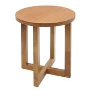 Regency Wood End Table, Medium Oak