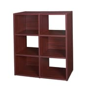 Regency Pixel Collection 47-inch Storage Divider Mahogany