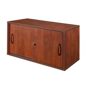 Regency Sandia Wall Mount Storage Cabinet, Cherry