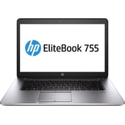 "HP AMD Dual-Core APU EliteBook 755 G2/J5N88UT#ABA 14.78"" Laptop"