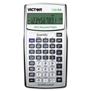 Victor® V30RA Scientific Recycled Calculator with Antimicrobial Protection (V30-RA)