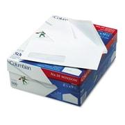 Columbian® Poly-Klear® Single Window Envelope, Gummed Flap, 4 1/8 x 9 1/2, White, 500/Box (CO170)