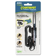 MMF Industries™ Counterfeit Currency Detector Pen, Black (200045204)
