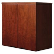 "Mayline® Mira Series Wardrobe Unit, 34 1/2"" x 38"", Medium Cherry (MWD3624MC)"