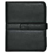 Buxton® Faux Leather Easel iPad Case, Faux Leather, iPad®, Black (OC402I15BK)
