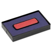 COSCO Replacement Ink Pad for 2000 PLUS® Economy Message Dater, Blue/Red, Each (061797)
