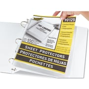 C-Line® Polypropylene Sheet Protector, Clear, 100/Each (90125)