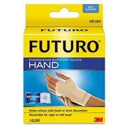 "FUTURO™ Energizing Support Glove, Palm Size 6.5"" - 7.5"", Beige, Each (09184EN)"