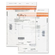 "Quality Park™ Tamper-Evident Deposit Bags, 12"" x 1/8"" x 16"", Clear (45231)"