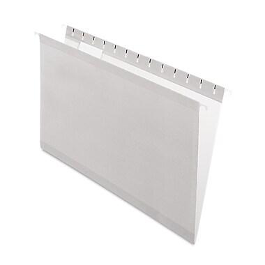 Pendaflex® Colored Reinforced Hanging Folders, Gray, Legal, 25/Box (415315GRA)