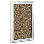 "Best-Rite® Rubber-Tak Enclosed Bulletin Board, 24"" x 36""Aluminum (94PSB-O-95-C)"