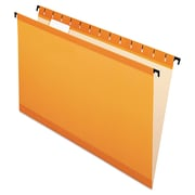 Pendaflex® SureHook® Hanging Folders, Orange, Legal, 20/Box (6153 1/5 ORA)