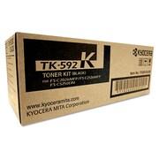 Kyocera TK592K Toner, 5,000 Page-Yield, Black