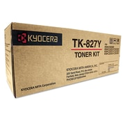 Kyocera TK827Y Toner, 7,000 Page-Yield, Yellow
