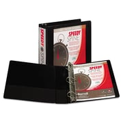 Samsill® Speedy Spine Heavy-Duty Time Saving D-Ring View Binder, 8 1/2 x 11, View, Each (19160C)