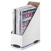 "Bankers Box® STOR/FILE™ Corrugated Magazine File, Corrugated Cardboard, 4"" x 11 3/4"", 12/Carton (10723)"